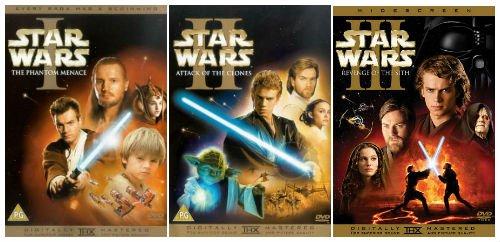 Mis Top 5 de las precuelas de Star Wars (La Guerra de las Galaxias) incluyendo historias y Episodios 1-3